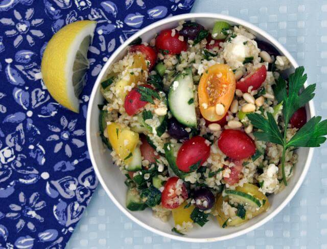 Farmer's Market Fast and Easy Tabouleh Salad