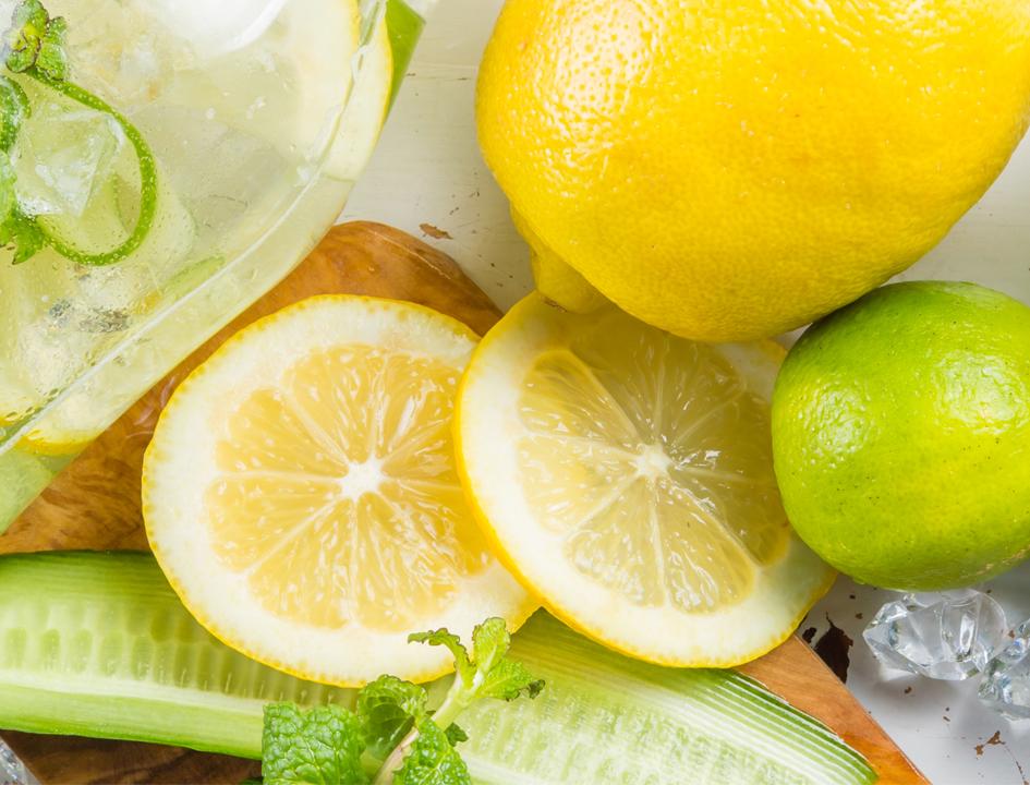 Lemon limes and cucumbers