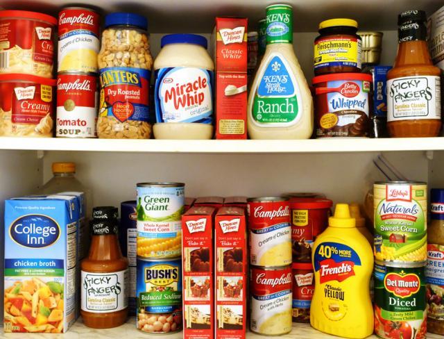 eliminate processed foods