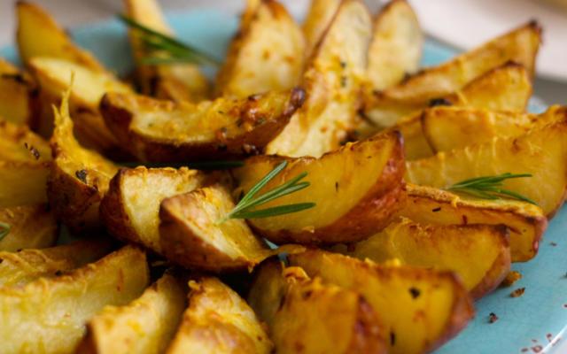 Pan-Seared Potato Planks