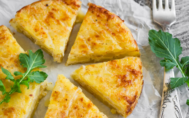 Spanish Tortilla Cheap and Easy
