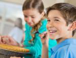 Children enjoying Pies from Scraps
