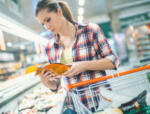 Digestive problems- women in grocery store