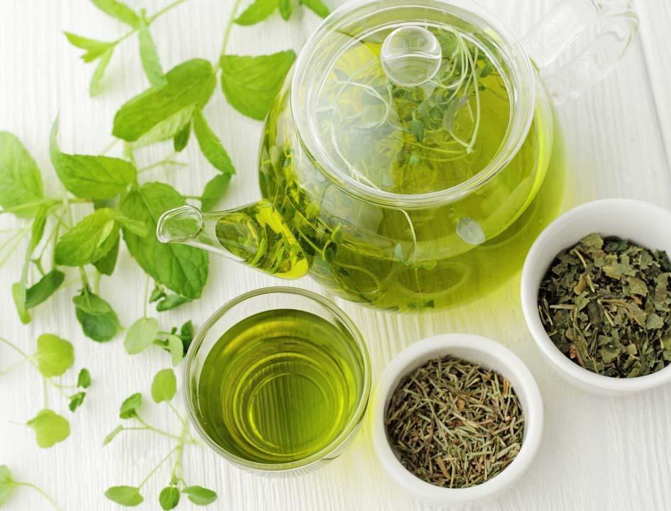 anti-aging foods green tea