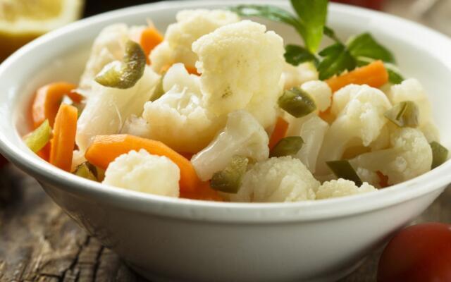 escabeche vegetable salad