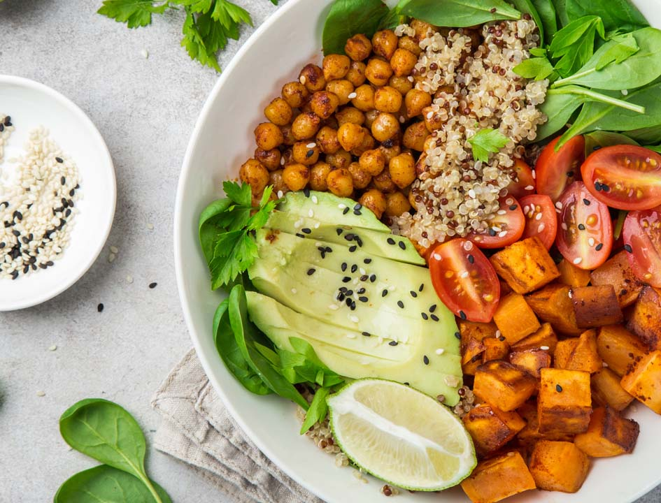 vegan dinner lower cholesterol levels naturally